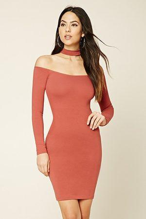 mujer-vestidos-mini-y-ajustados-forever-21-vestido-ajustado-con-choker